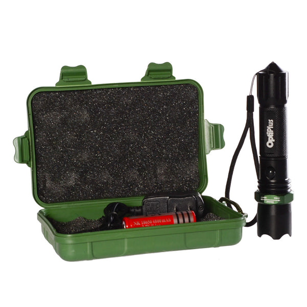 Opti-Logic Tactical Flashlight  Lights and Lighting Opti-Logic - Hook 1 Outfitters/Kayak Fishing Gear