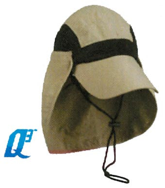 Outdoor Cap River Runner Hat - Khaki Supplex W/Neck Guard 1-S  Clothing/Footwear - Fishing Outdoor Cap - Hook 1 Outfitters/Kayak Fishing Gear