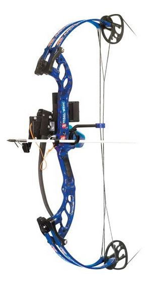 Pse Bowfishing Bow Pkg - Tidal Wave Rh 30/40 H2O Camo  Bowfishing PSE Archery - Hook 1 Outfitters/Kayak Fishing Gear