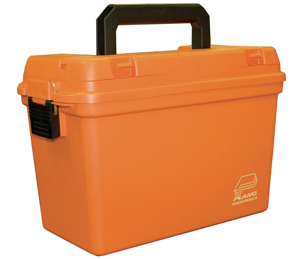 Plano Emergency Storage Box - Orange W/Tray 15 X 8 X 10  Tackle Boxes/Bags Plano Molding - Hook 1 Outfitters/Kayak Fishing Gear