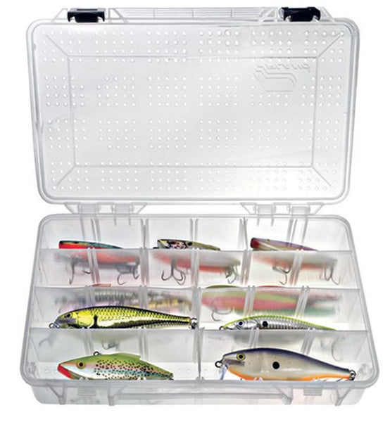 Plano Stowaway Utility Box - Hydro Flo 3700 Deep Size  Tackle Boxes/Bags Plano Molding - Hook 1 Outfitters/Kayak Fishing Gear