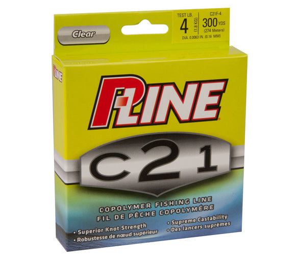 P-Line C21F-4 C21 Copolymer  Line - Mono P-Line - Hook 1 Outfitters/Kayak Fishing Gear