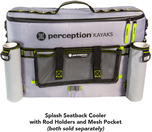 Perception Splash Seat Back Cooler  Kayak Accessories Perception - Hook 1 Outfitters/Kayak Fishing Gear