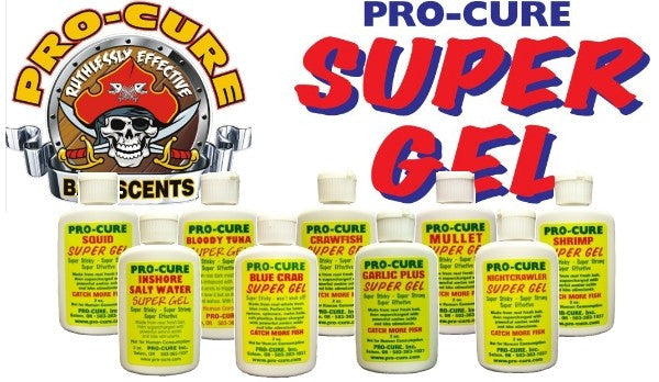 Pro-Cure Gel  Lures - Attractants/Accessor Pro-Cure - Hook 1 Outfitters/Kayak Fishing Gear