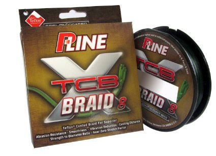 P-Line Tcb 8 Carrier Braid  Line - Braid P-Line - Hook 1 Outfitters/Kayak Fishing Gear