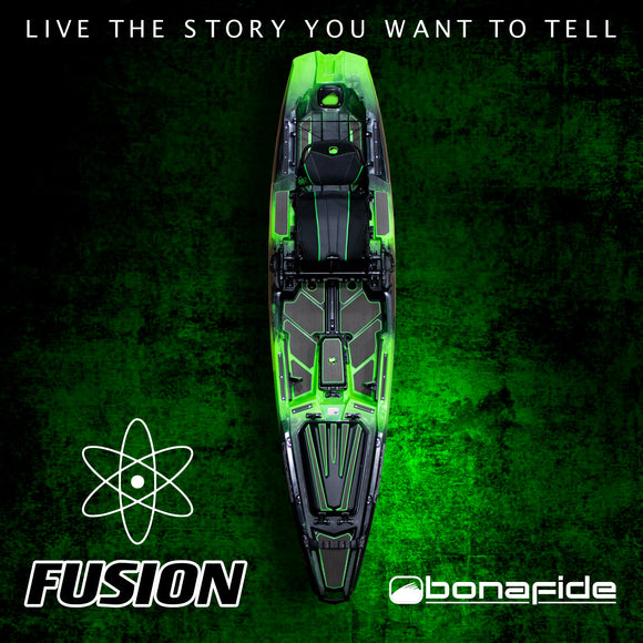 Bonafide Kayaks SS127 Fusion Limited Edition  Kayaks Bonafide Kayaks - Hook 1 Outfitters/Kayak Fishing Gear