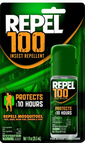 Repel Insect Repellent - 100% Deet 1Oz Pump