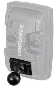 "RAM Quick Release Adapter with 1"" Ball for ""LIGHT USE"" Lowrance Elite-4 & Mark-4 Series Fishfinders  Depthfinder and Electronics Mounts RAM - Hook 1 Outfitters/Kayak Fishing Gear"
