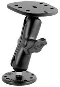 "RAM 1.5"" Ball Marine Electronic ""RUGGED USE"" Mount for the Humminbird 100, 300, 500, 700 Series, Matrix Series and Lowrance Elite-5 Series  Depthfinder and Electronics Mounts RAM - Hook 1 Outfitters/Kayak Fishing Gear"