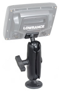 RAM® Composite Double Ball Mount for Lowrance Elite-5, Mark-5 + More  Depthfinder and Electronics Mounts RAM - Hook 1 Outfitters/Kayak Fishing Gear