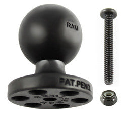 "RAM STACK-N-STOW™ Topside Base with 1"" Ball  Surface and Ball Mounts RAM - Hook 1 Outfitters/Kayak Fishing Gear"