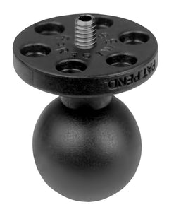 "Camera Ball, 1/4-20 threads, 1"" Composite Ball  Camera Mounts YakAttack - Hook 1 Outfitters/Kayak Fishing Gear"