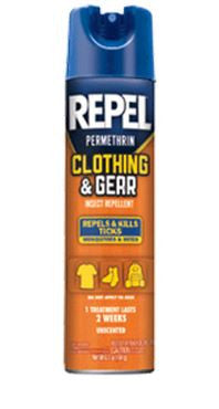Repel Permanone - Aerosol Unscented  Camping Cutter-Repel - Hook 1 Outfitters/Kayak Fishing Gear