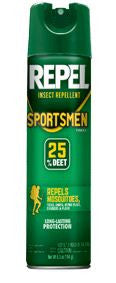 Repel Insect Repellent - Sportsmans Aerosol 6.5Oz  Camping Cutter-Repel - Hook 1 Outfitters/Kayak Fishing Gear