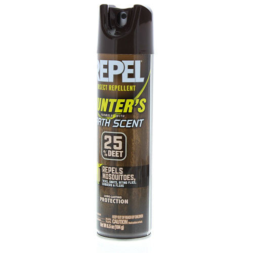 Repel Insect Repellent - Hunters Aerosol 6.5Oz Earth