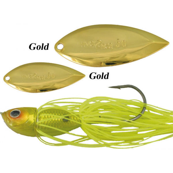 River-2-Sea Crystal Spin  Lures - Spinnerbaits/Buzzbaits River-2-Sea - Hook 1 Outfitters/Kayak Fishing Gear