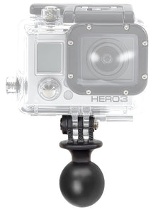 "RAM Mounts® 1"" GoPro® Ready Camera Ball  Camera Mounts YakAttack - Hook 1 Outfitters/Kayak Fishing Gear"