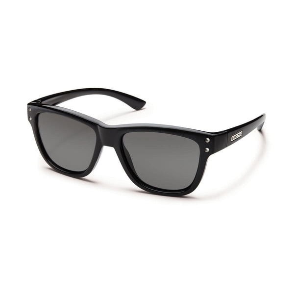 CAROB BLACK FRAME WITH GRAY POLARIZED POLYCARBONATE LENS Eyewear/Accessories Suncloud - Hook 1 Outfitters/Kayak Fishing Gear