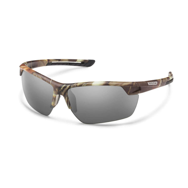 CONTENDER MATTE CAMO FRAME WITH GRAY POLARIZED POLYCARBONATE LENS Eyewear/Accessories Suncloud - Hook 1 Outfitters/Kayak Fishing Gear