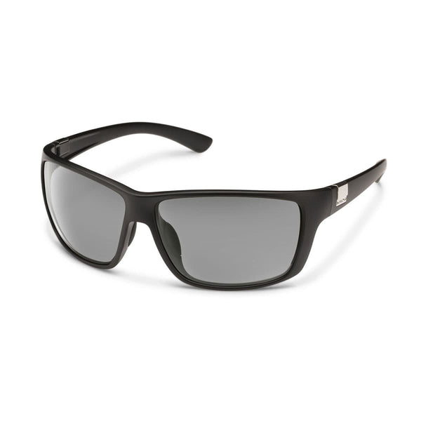 COUNCILMAN MATTE BLACK FRAME WITH GRAY POLARIZED POLYCARBONATE LENS Eyewear/Accessories Suncloud - Hook 1 Outfitters/Kayak Fishing Gear