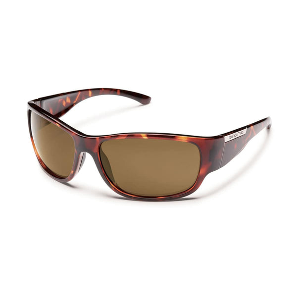 CONVOY TORTOISE FRAME WITH BROWN POLARIZED POLYCARBONATE LENS Eyewear/Accessories Suncloud - Hook 1 Outfitters/Kayak Fishing Gear