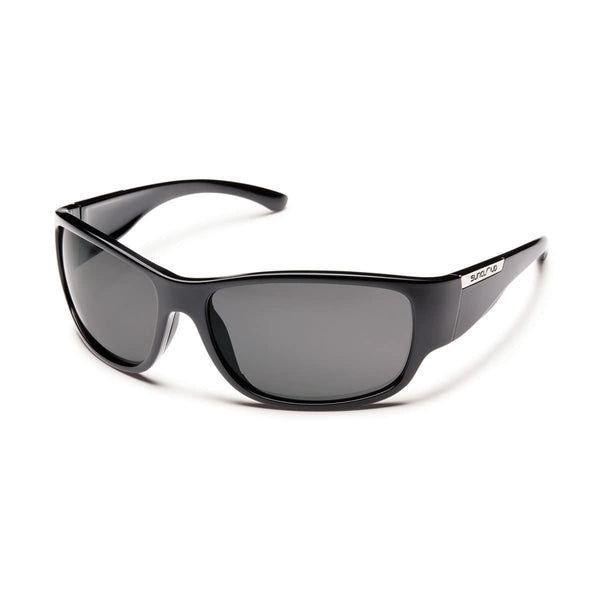 CONVOY BLACK FRAME WITH GRAY POLARIZED POLYCARBONATE LENS Eyewear/Accessories Suncloud - Hook 1 Outfitters/Kayak Fishing Gear
