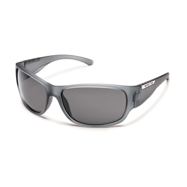 CONVOY MATTE GRAY FRAME WITH GRAY POLARIZED POLYCARBONATE LENS Eyewear/Accessories Suncloud - Hook 1 Outfitters/Kayak Fishing Gear