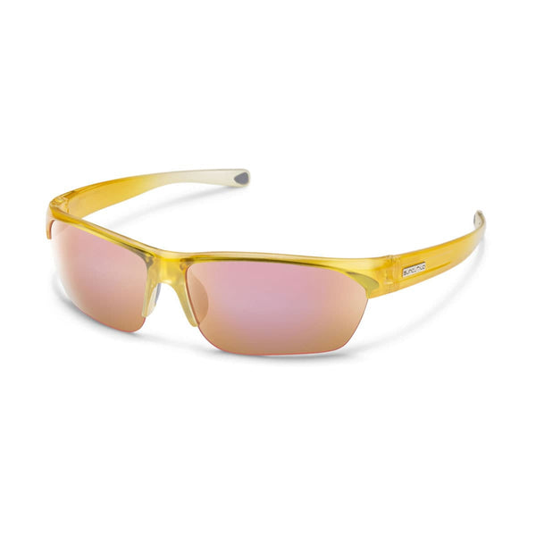 DETOUR YELLOW FADE FRAME WITH PINK MIRROR POLARIZED POLYCARBONATE LENS Eyewear/Accessories Suncloud - Hook 1 Outfitters/Kayak Fishing Gear