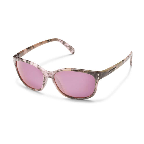 FLUTTER PINK CAMO FRAME WITH PINK MIRROR POLARIZED POLYCARBONATE LENS Eyewear/Accessories Suncloud - Hook 1 Outfitters/Kayak Fishing Gear
