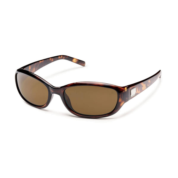 IRIS BROWN TORTOISE FRAME WITH BROWN POLARIZED POLYCARBONATE LENS Eyewear/Accessories Suncloud - Hook 1 Outfitters/Kayak Fishing Gear