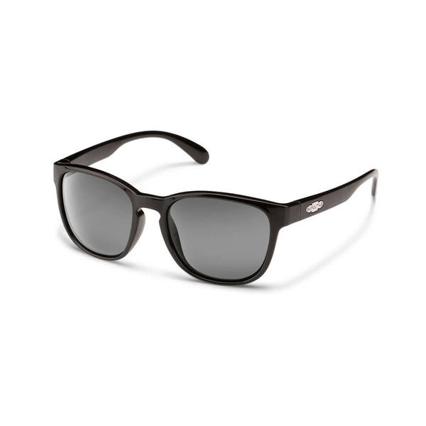 LOVESEAT BLACK FRAME WITH GRAY POLARIZED POLYCARBONATE LENS Eyewear/Accessories Suncloud - Hook 1 Outfitters/Kayak Fishing Gear