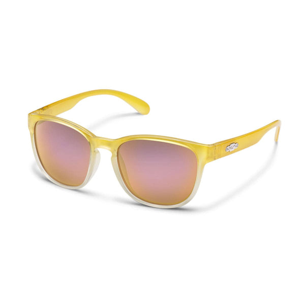 LOVESEAT YELLOW FADE FRAME WITH PINK MIRROR POLARIZED POLYCARBONATE LENS Eyewear/Accessories Suncloud - Hook 1 Outfitters/Kayak Fishing Gear