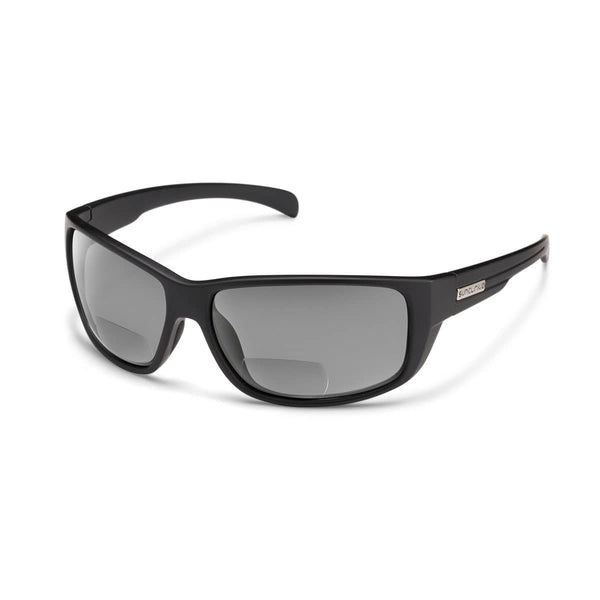 MILESTONE 2.00 MATTE BLACK FRAME WITH GRAY POLARIZED POLYCARBONATE LENS Eyewear/Accessories Suncloud - Hook 1 Outfitters/Kayak Fishing Gear