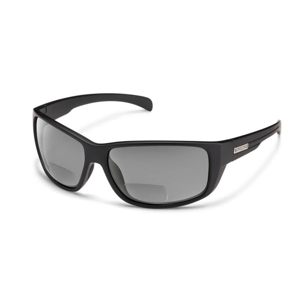 MILESTONE 2.50 MATTE BLACK FRAME WITH GRAY POLARIZED POLYCARBONATE LENS Eyewear/Accessories Suncloud - Hook 1 Outfitters/Kayak Fishing Gear