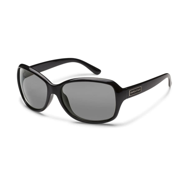 MOSAIC BLACK FRAME WITH GRAY POLARIZED POLYCARBONATE LENS Eyewear/Accessories Suncloud - Hook 1 Outfitters/Kayak Fishing Gear
