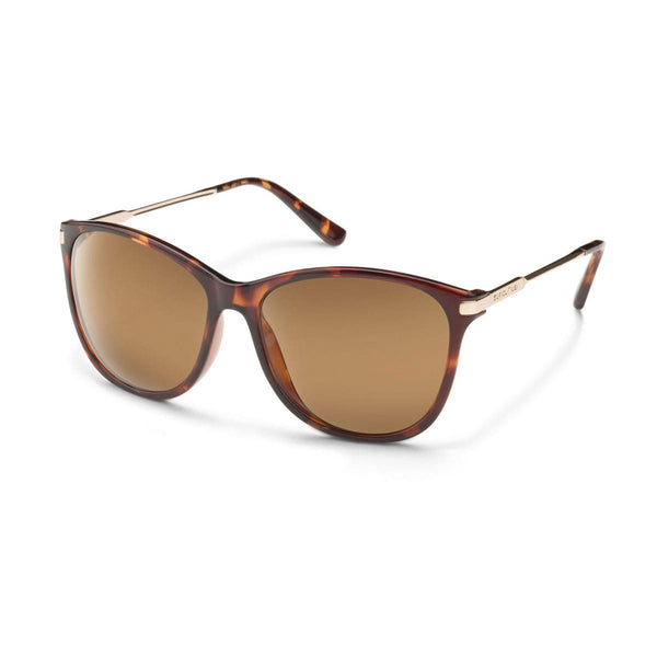 NIGHTCAP TORTOISE FRAME WITH BROWN POLARIZED POLYCARBONATE LENS Eyewear/Accessories Suncloud - Hook 1 Outfitters/Kayak Fishing Gear