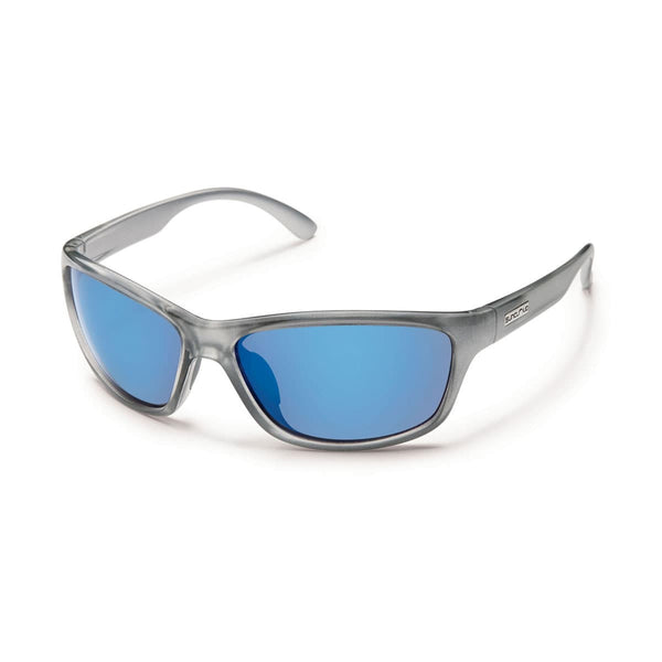 ROWAN SILVER BACKPAINT FRAME WITH BLUE MIRROR POLARIZED POLYCARBONATE LENS Eyewear/Accessories Suncloud - Hook 1 Outfitters/Kayak Fishing Gear