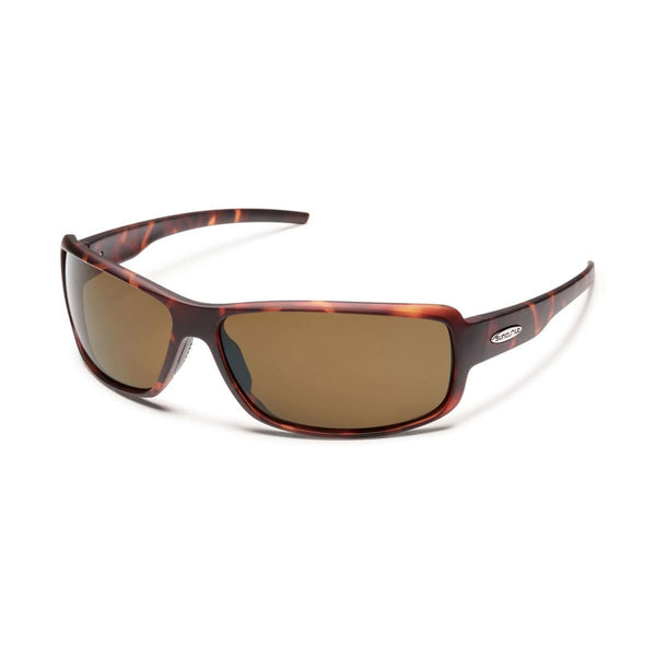 RICOCHET MATTE TORTOISE FRAME WITH BROWN POLARIZED POLYCARBONATE LENS Eyewear/Accessories Suncloud - Hook 1 Outfitters/Kayak Fishing Gear