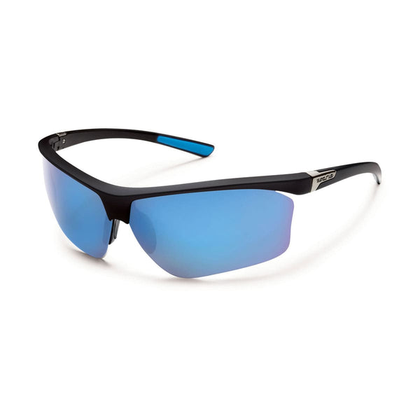 ROADMAP BLACK FRAME WITH BLUE MIRROR POLARIZED POLYCARBONATE LENS Eyewear/Accessories Suncloud - Hook 1 Outfitters/Kayak Fishing Gear