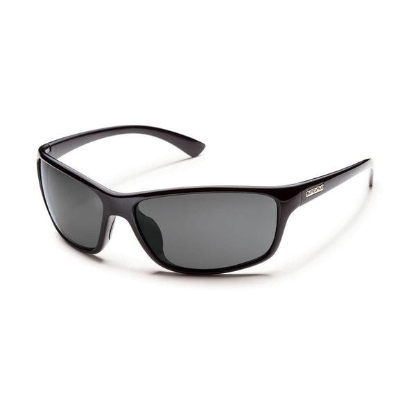 SENTRY BLACK FRAME WITH GRAY POLARIZED POLYCARBONATE LENS Eyewear/Accessories Suncloud - Hook 1 Outfitters/Kayak Fishing Gear
