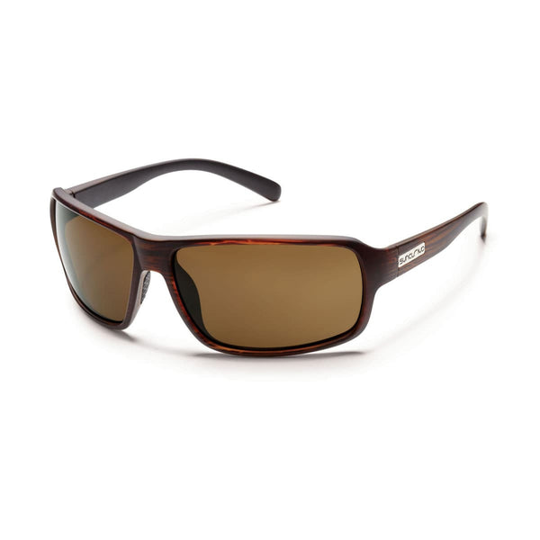 TAILGATE BURNISHED BROWN FRAME WITH BROWN POLARIZED POLYCARBONATE LENS Eyewear/Accessories Suncloud - Hook 1 Outfitters/Kayak Fishing Gear