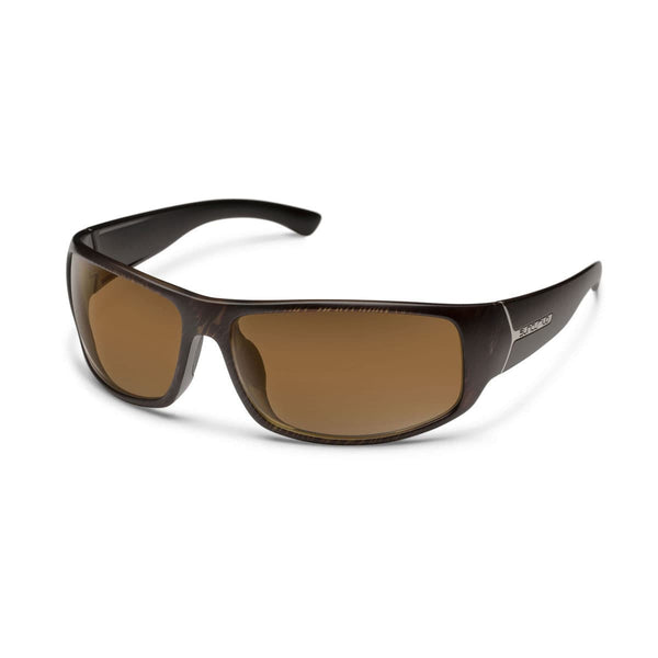 TURBINE BLACKENED TORTOISE FRAME WITH BROWN POLARIZED POLYCARBONATE LENS Eyewear/Accessories Suncloud - Hook 1 Outfitters/Kayak Fishing Gear