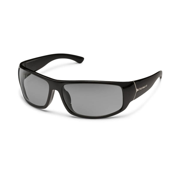 TURBINE BLACK FRAME WITH GRAY POLARIZED POLYCARBONATE LENS Eyewear/Accessories Suncloud - Hook 1 Outfitters/Kayak Fishing Gear