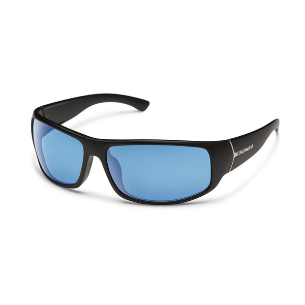 TURBINE BLACK FRAME WITH BLUE MIRROR POLARIZED POLYCARBONATE LENS Eyewear/Accessories Suncloud - Hook 1 Outfitters/Kayak Fishing Gear