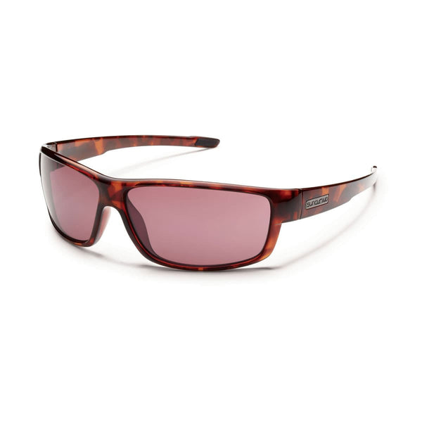 VOUCHER TORTOISE FRAME WITH ROSE POLARIZED POLYCARBONATE LENS Eyewear/Accessories Suncloud - Hook 1 Outfitters/Kayak Fishing Gear