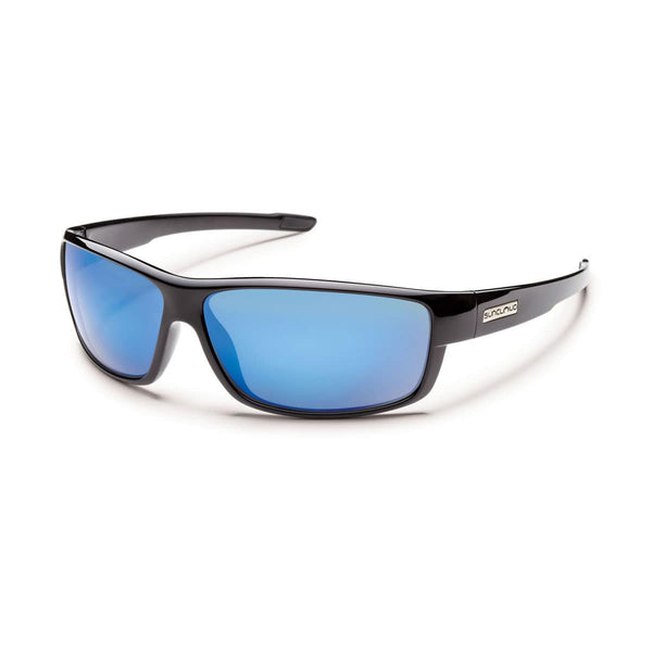 VOUCHER BLACK FRAME WITH BLUE MIRROR POLARIZED POLYCARBONATE LENS Eyewear/Accessories Suncloud - Hook 1 Outfitters/Kayak Fishing Gear