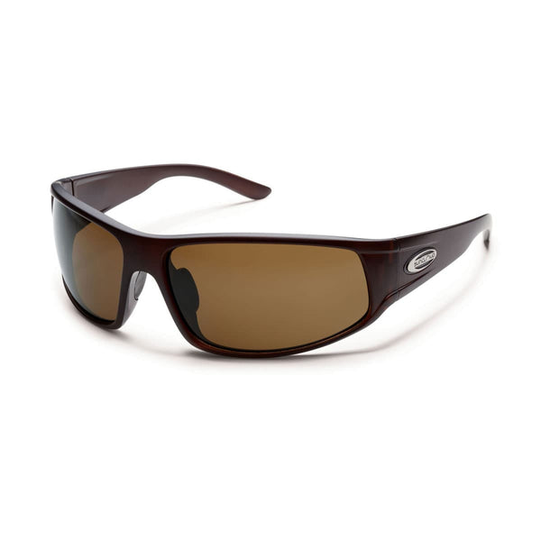 WARRANT MATTE BROWN FRAME WITH BROWN POLARIZED POLYCARBONATE LENS Eyewear/Accessories Suncloud - Hook 1 Outfitters/Kayak Fishing Gear