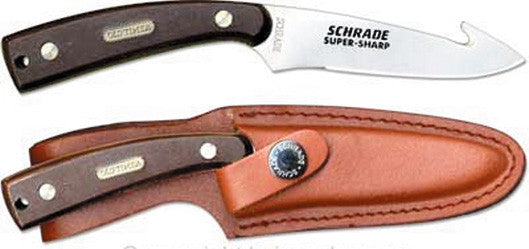 Schrade Knife Old Timer - 7-1/4 Guthook Skinner W/Sheath  Cutlery/Tools Schrade - Hook 1 Outfitters/Kayak Fishing Gear