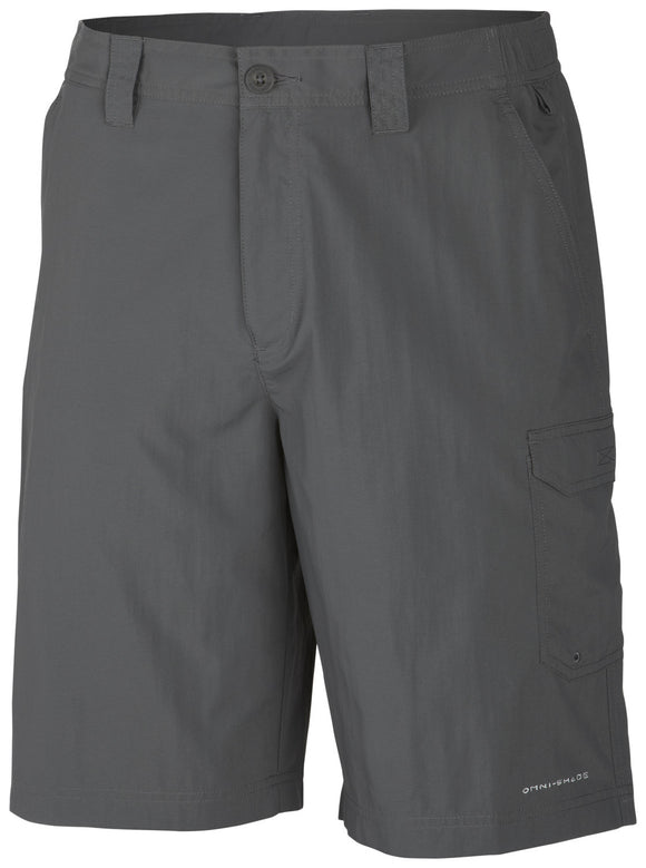 MEN'S PFG BLOOD AND GUTS™ III SHORT Grill / 30 / 10 Bottoms Columbia - Hook 1 Outfitters/Kayak Fishing Gear