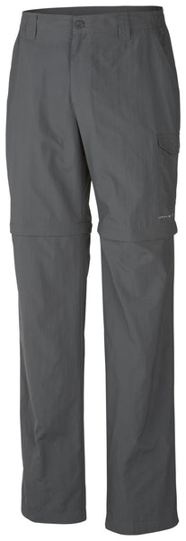 MEN'S PFG BLOOD AND GUTS™ III CONVERTIBLE PANT Grill / 30 / 30 Bottoms Columbia - Hook 1 Outfitters/Kayak Fishing Gear